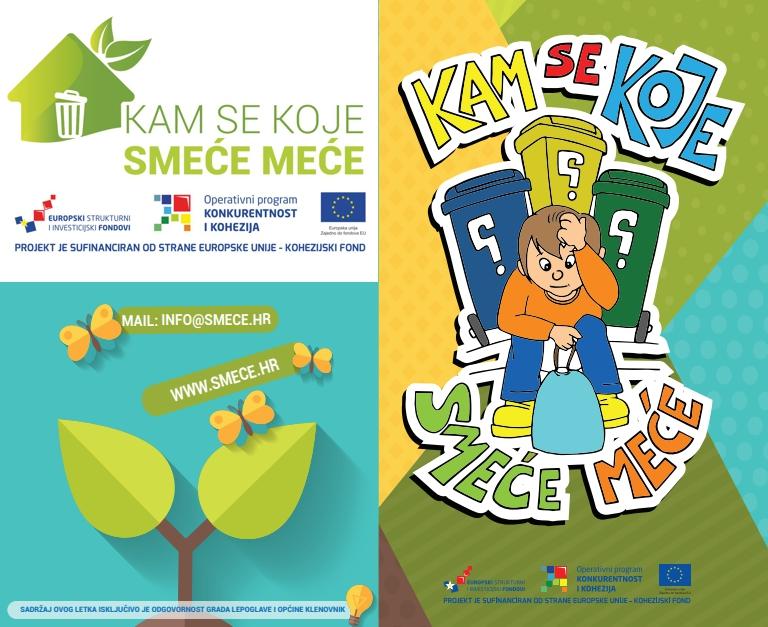 U okviru projekta izdana brošura za djecu